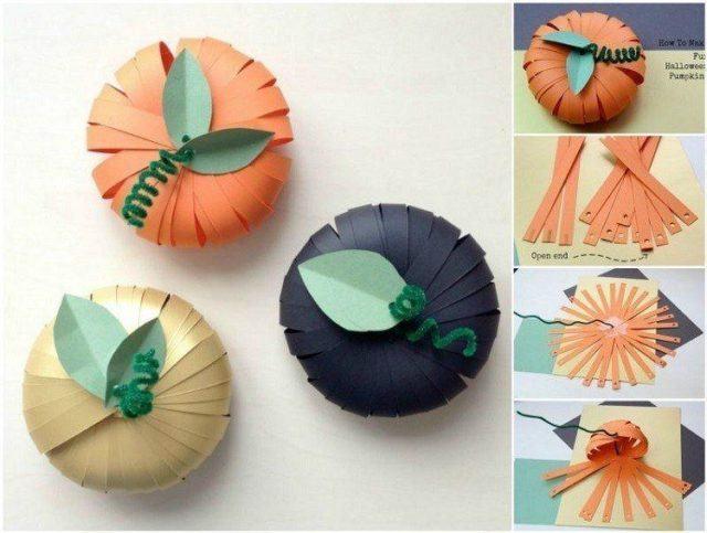 decoracion-halloween-como-hacer-calabazas-carton