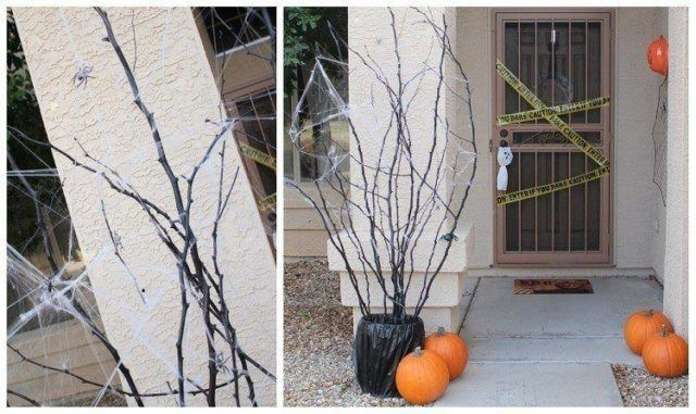 Halloween decoration-deco-original-door-halloween