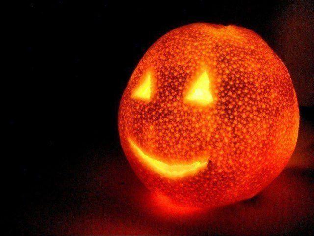 Halloween decoration-orange-halloween