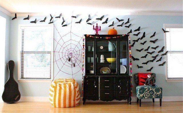 Halloween decoration-salon-party-halloween