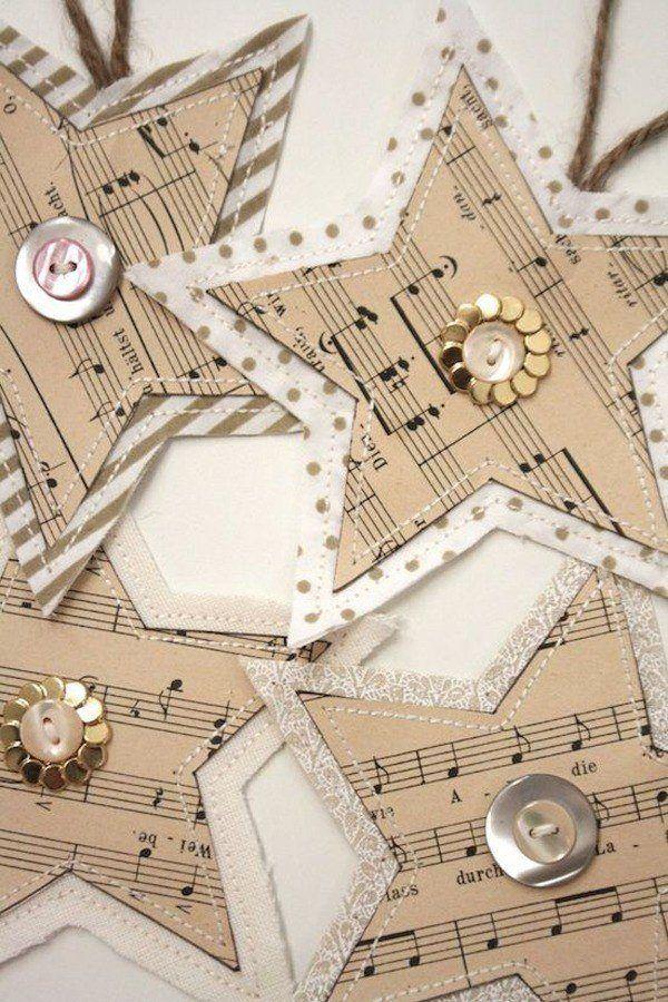 Christmas decoration-vintage-stars