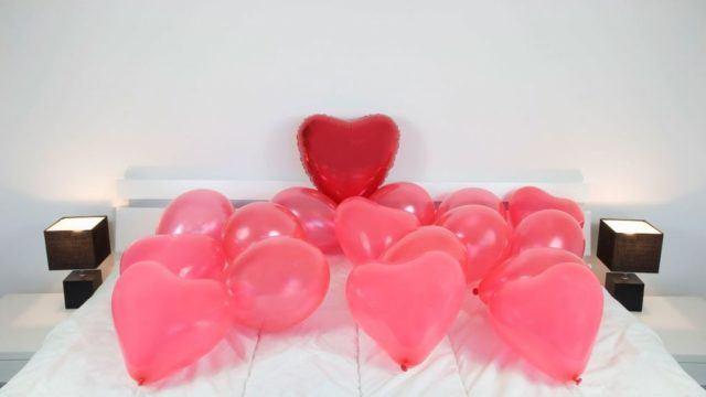 decoracion-san-valentin-dormitorio-globos