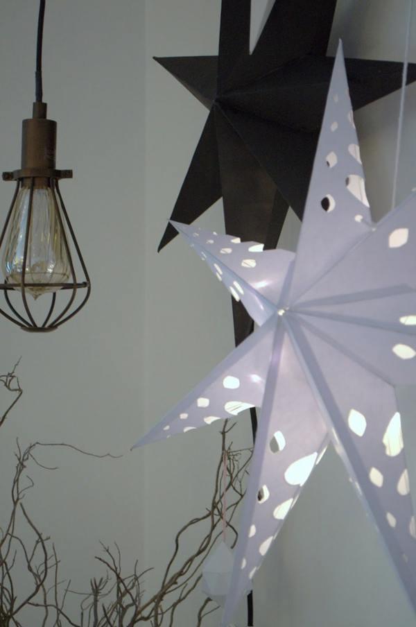 Christmas-stars-white-and-black