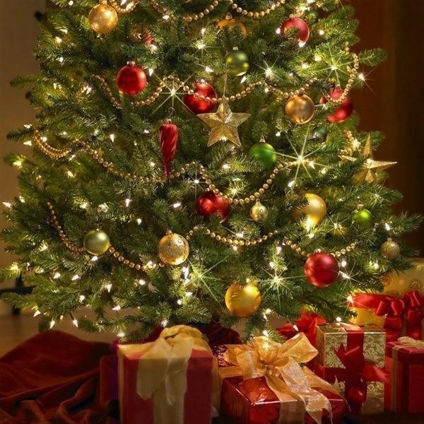 Christmas-star-gold-color