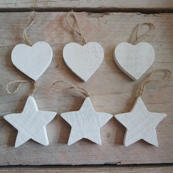 Stars-of-christmas-of-wood-and-rope
