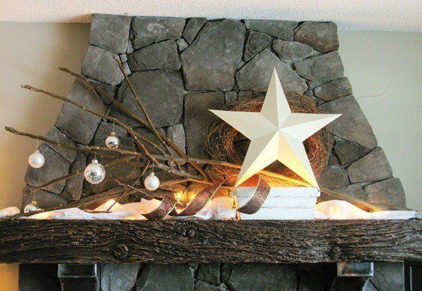 Christmas-stars-in-the-fireplace