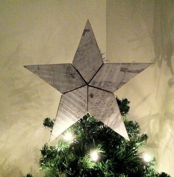 Stars-of-christmas-wood-christmas-tree