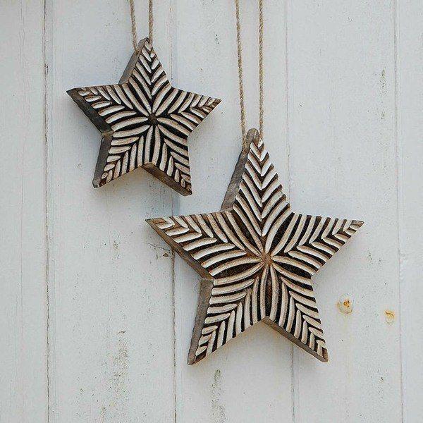 Stars-of-christmas-modern-wood