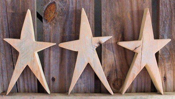 Christmas-star-wood