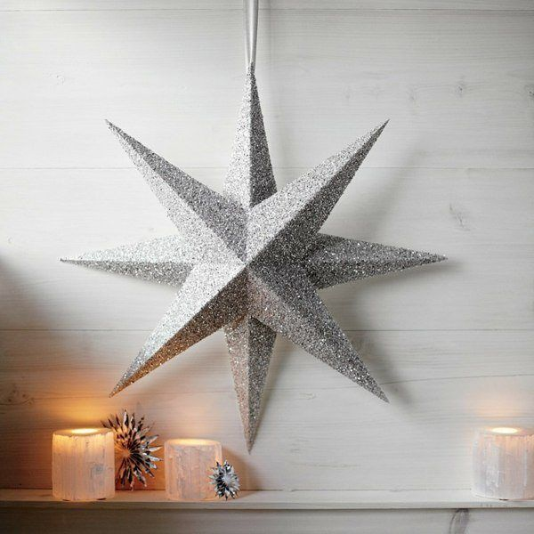 Christmas-silver-stars