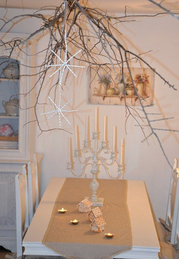Christmas stars-branches-tree