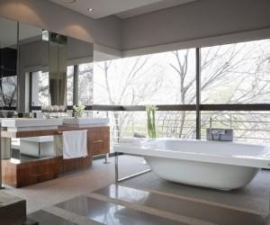 Más de 120 ideas para baños modernos 2017