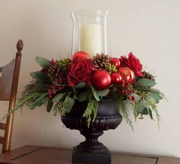 De 50 Fotos Con Ideas Velas Navidad Decoracin