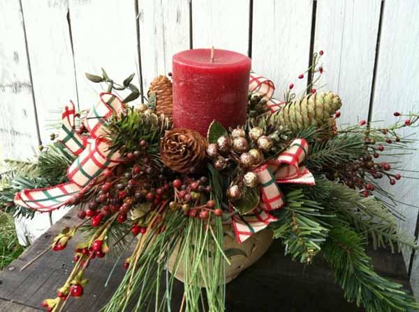 velas-de-navidad-con-pinas-ramas