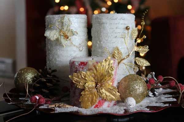 velas-de-navidad-dorado