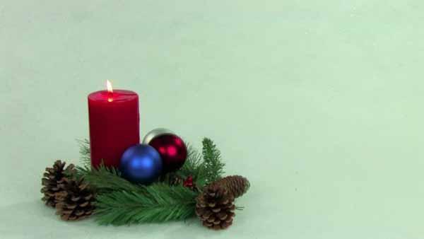 velas-de-navidad-roja