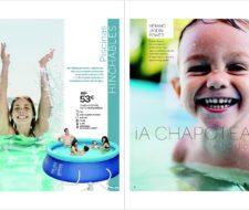 Catálogo de Piscinas Carrefour verano 2016. El verano más fresco