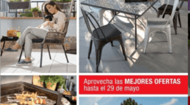 Catálogo Jardines y Terrazas de Leroy Merlín verano 2018
