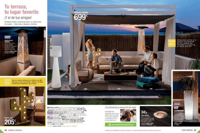 Cat logo jardines y terrazas de leroy merl n 2018 for Catalogo jardin hipercor 2016
