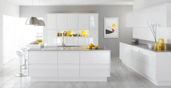 Fotos cocinas modernas 2019 ideas para decorar cocinas for Cocinas integrales blancas modernas
