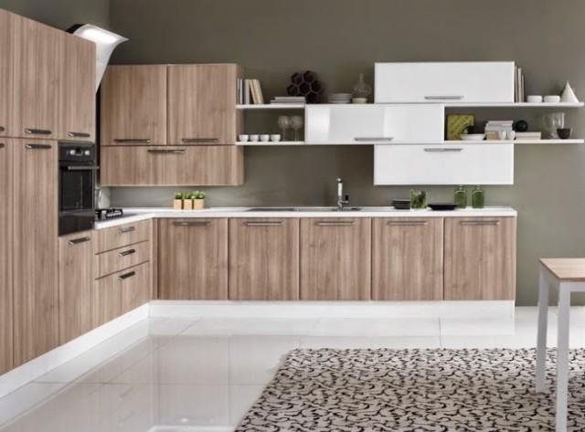Ideas para decorar cocinas for Cocinas modernas color madera