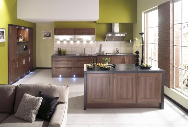 Kitchens-modern-with-island
