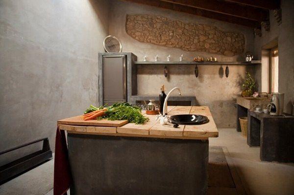 M s de 100 fotos de cocinas r sticas decoradas con encanto for Cocinas de obra