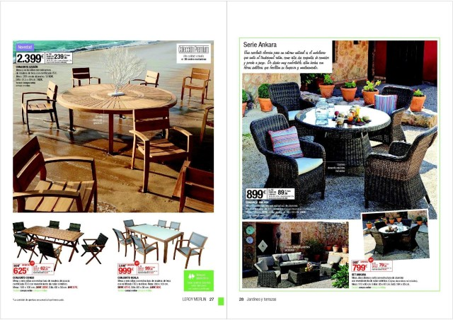 catalogo jardin leroy merlin as que si estas buscando una. Black Bedroom Furniture Sets. Home Design Ideas