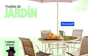 Catálogo Carrefour muebles de jardín verano 2016