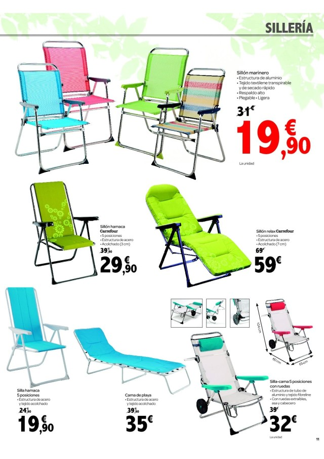 Carrefour sillas oficina top sillas oficina homcenter for Piscinas desmontables baratas carrefour