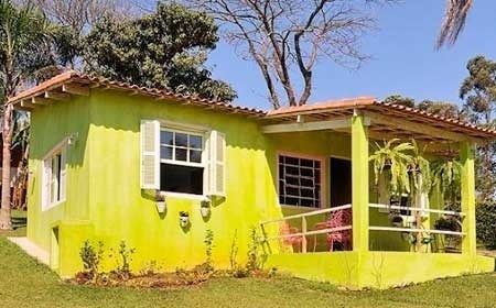 50 Fotos E Ideas De Colores Para Fachadas De Casas Y