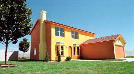 20-fotos-e-ideas-colores-fachadas-casas-exteriores-casa-pintada-de-los-simpson