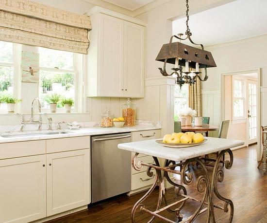 M s de 60 fotos de cocinas decoradas con encanto - Decoracion vintage cocina ...