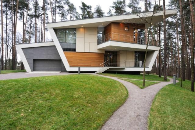 De 200 fotos de fachadas de casas modernas y bonitas del - Disenos de casas de dos plantas ...