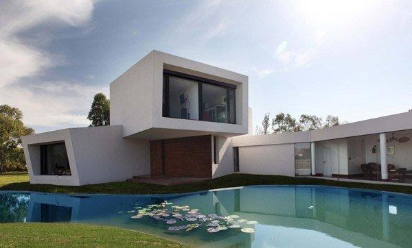 De 200 fotos de fachadas de casas modernas y bonitas del for Fachada de casas modernas lujosas