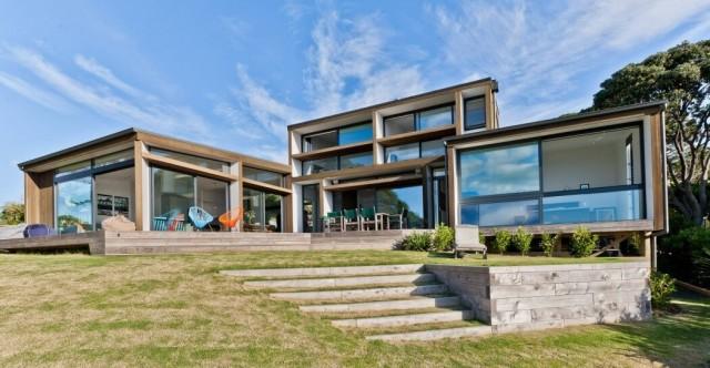 50 fotos fachadas casas mas bonitas modernas del mundo for Casas mas bonitas del mundo