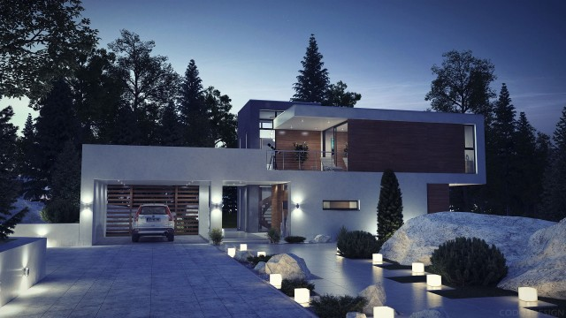 50-fotos-fachadas-casas-mas-bonitas-modernas-del-mundo-casa-de-estilo-moderno-con-doble-fachada