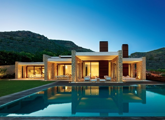 50-photos-facades-houses-more-beautiful-modern-of-the-world-house-of-modern-style-with-stone-facade-open