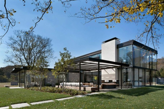 50-photos-facades-homes-more-beautiful-modern-of-the-world-modern-house-with-glasses