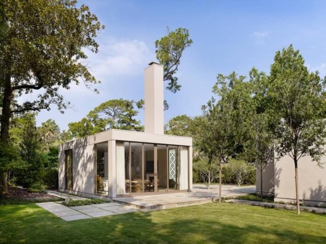 De 200 fotos de fachadas de casas modernas y bonitas del - Casas con chimeneas modernas ...