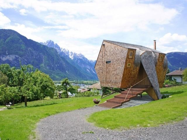 50-fotos-fachadas-casas-mas-bonitas-modernas-del-mundo-casa-moderna-y-pequeña-de-diseño-en-color-marron