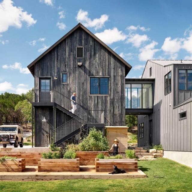De 200 fotos de fachadas de casas modernas y bonitas del - Casas de madera bonitas ...