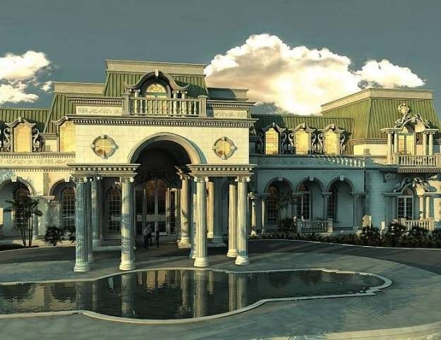 50-photos-facades-houses-more-beautiful-modern-of-the-world-imperial-style