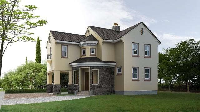 De 200 fotos de fachadas de casas modernas y bonitas del for Casas estilo vintage