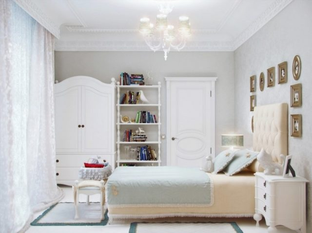 Colores para cuartos juveniles habitaciones en 2018 - Habitaciones blancas juveniles ...
