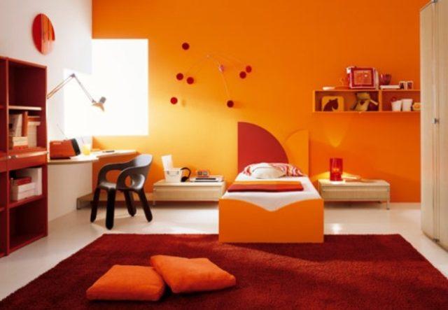 Colores-para-cuartos-juveniles-color-naranja