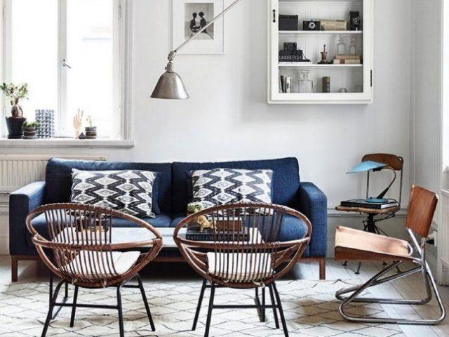 Fotos-salones-pequenos-con-sofa-dos-sillas