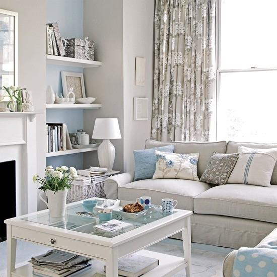 Fotos-salones-pequenos-muebles-blancos