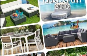 Muebles y decoración de jardín Conforama 2016