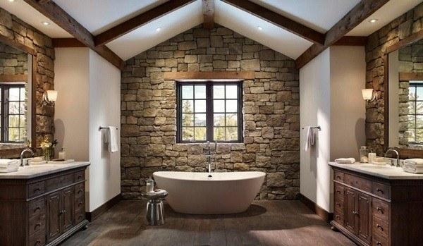 banos-rusticos-piedra-y-madera